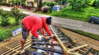 Jak wybudować dom ? #39 Kawa FPS .Jak układamy dachówkę? Budowa domu krok po kroku. Dzień 42-43