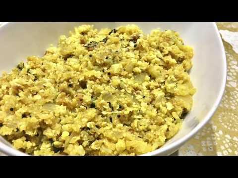 Simple Cauliflower Stir-fry (Malayalam) | Recipes With Shana - Malayalam Ep #123
