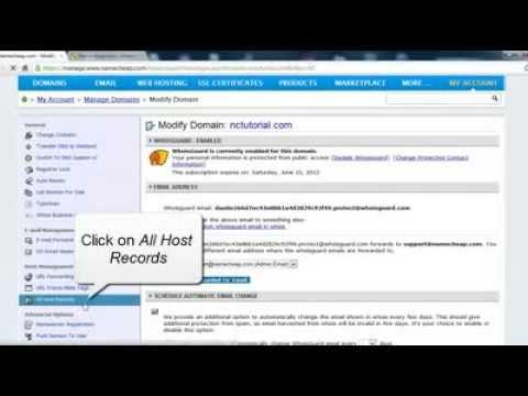 How to Set Up URL Frame (masking url)