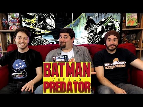 Batman vs Predator Comic #Batman #Predator