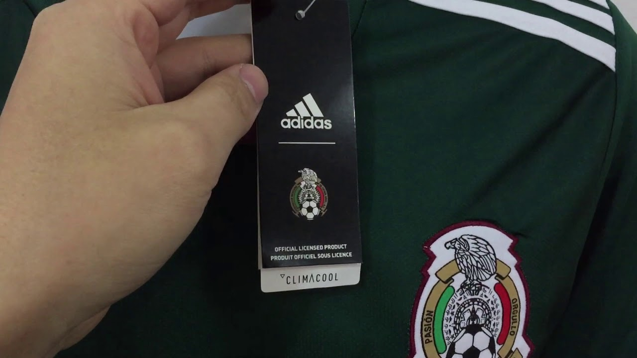 b20f7598f 2018 Mexico national home soccer jerseys unboxing reviews tectopjersey.com