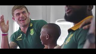 Here's To Being Selected As The Trusted Domestic Carrier Of The Springboks