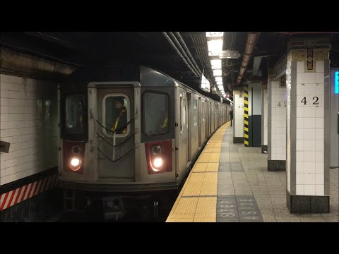 IRT Lexington Ave Line: (4) (5) Exp and (6) Lcl Trains @ Grand Central-42nd St (R62A, R142, R142A)