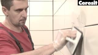 Видеоиструкция по применению фуги Ceresit CE 40