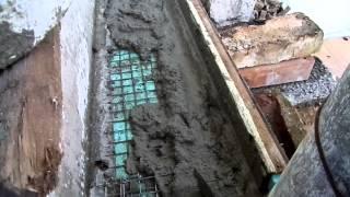 Как сделать бетонные ступеньки с помощью временной опалубки \Stairs made from concrete