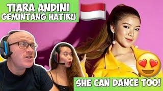 TIARA ANDINI - GEMINTANG HATIKU ( OFFICIAL MUSIC VIDEO) | REACTION! SO LOVELY 🇮🇩😍