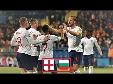 Англия - Болгария обзор матча футбольных сборных