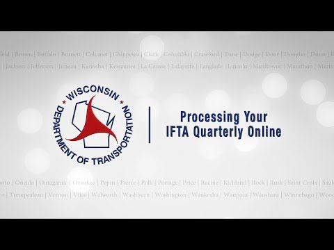 Processing Your IFTA Quarterly Online