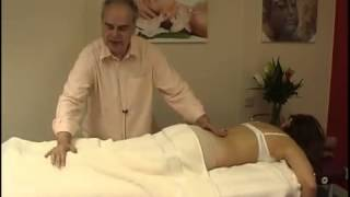 Азиатский массаж на столе  часть 1