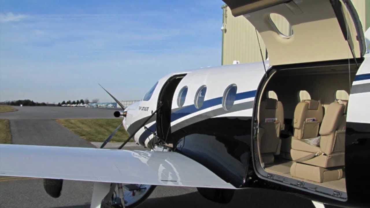Superior New Pilatus PC 12 NG Overview   YouTube