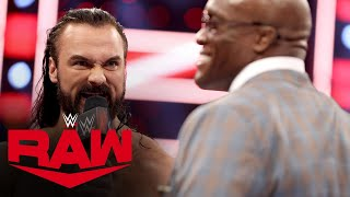 Drew McIntyre objects to Bobby Lashley's open challenge: Raw, May 17, 2021