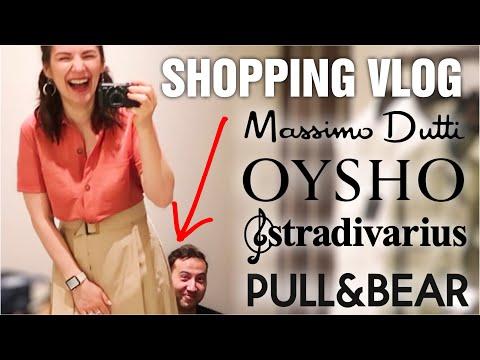 ШОПИНГ ВЛОГ - Massimo Dutti, OYSHO, Pull&Bear, Stradivarius, Befree МАСС-МАРКЕТ