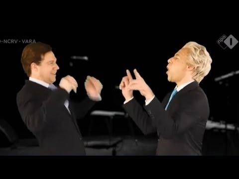 Mark Rutte VS.  Geert Wilders   RAP BATTLE 2017