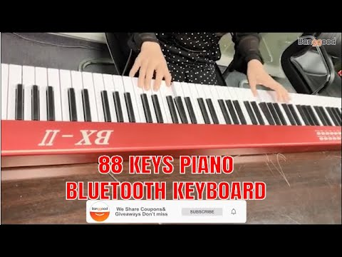 Download TEACH YOURSELF PIANO DURING LOCKDOWN || BORA BX2 88 Keys LED Electronic Piano  for Beginners