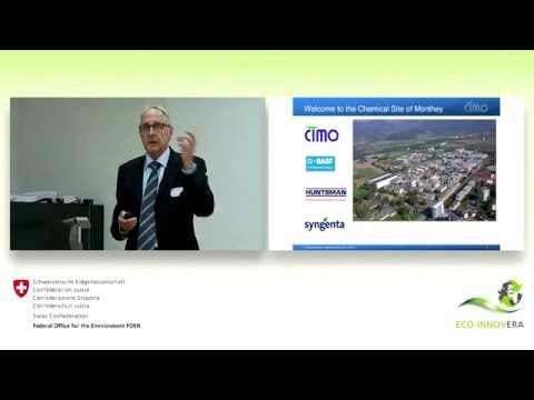 Eco-innovation parks: The chemical site CIMO in Monthey, Swi