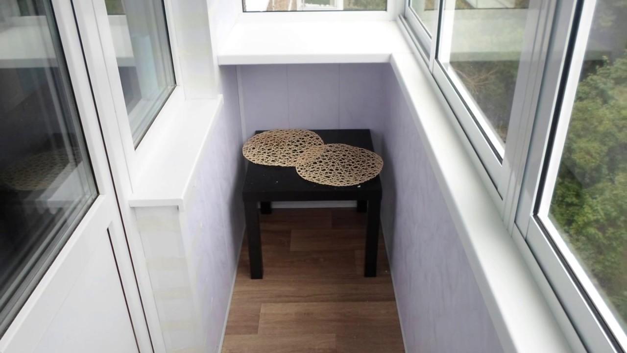 Ремонт балкона.раздвижная рама,крыша,наружная и внутренняя о.