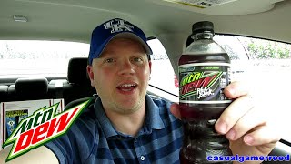 Reed Reviews Mountain Dew Pitch Black