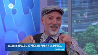 Valerio Rinaldi en El Heraldo TV (Ciudad de México)
