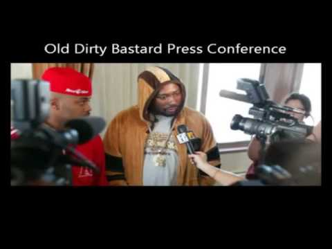 The best from Ol' dirty Bastard (in)famous Press Conference