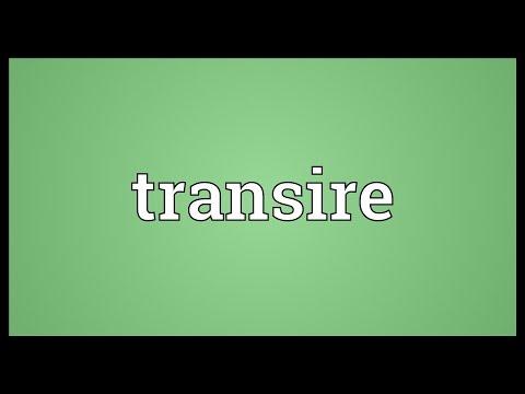 Header of transire