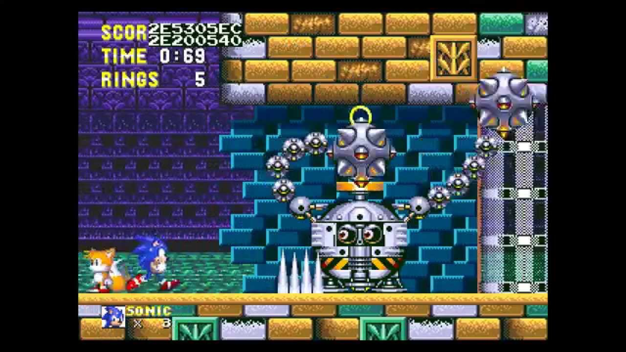 Sonic 3 Flying Battery Zone Bosses Youtube