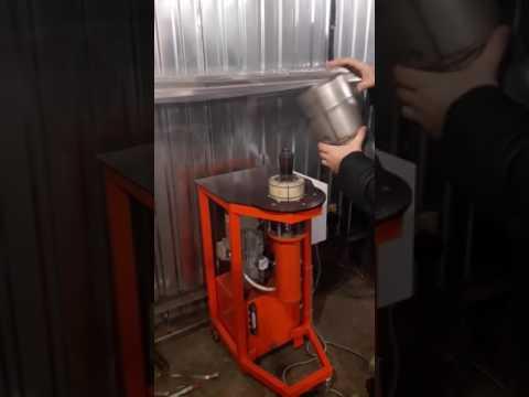 Разжимка труб из нержавеющей стали, эспандер. Раздавка труб из нержавеющей стали, алюминия, меди.