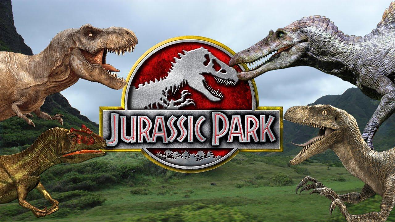 Top 10 Dinosaurios De La Saga Jurassic Park Youtube