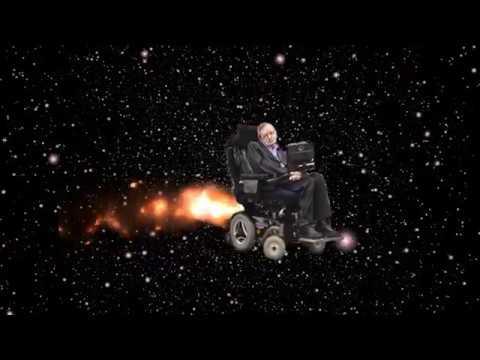 Stephen Hawking In Space
