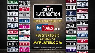 My Plates Great Plate Auction thumbnail