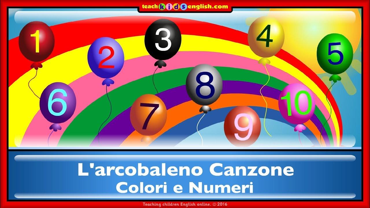 L 39 arcobaleno canzone youtube - Arcobaleno a colori e stampa ...