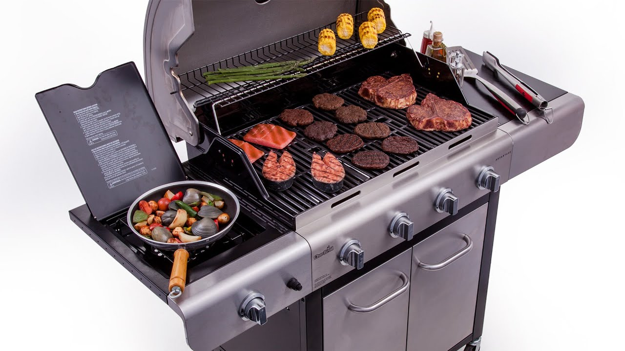 Char Broil Advantage Deluxe 4 Burner Gas Grill Lowe s Exclusive