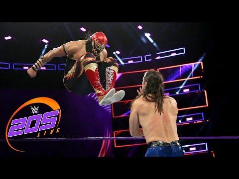 Gran Metalik vs. The Brian Kendrick: WWE 205 Live, Dec. 5, 2017