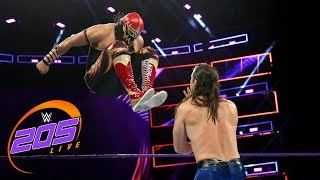 Gran Metalik vs. The Brian Kendrick: WWE 205 Live, Dec. 5, 2017