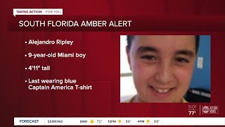 Amber Alert Issued For 9-year-old South Florida Boy Who Was Reportedly Abducted By 2 Suspects