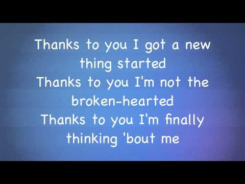 Kelly Clarkson  Stronger What doesnt kill you lyrics