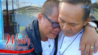 Mag-amang hindi nagkita ng 4 na dekada, binigyan ng engrandeng reunion ng 'Wish Ko Lang!'