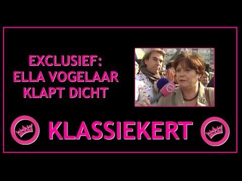 EXCLUSIEF: Ella Vogelaar klapt dicht