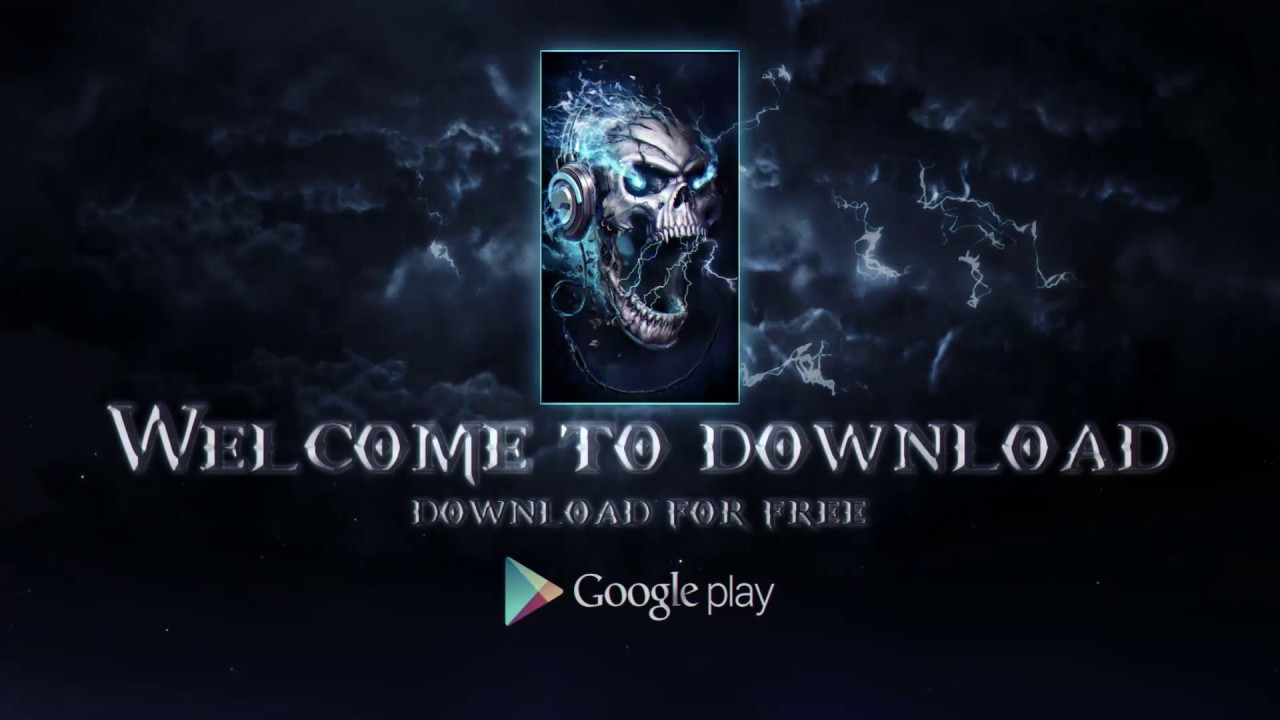 3D Live Wallpaper - Electric Skull! | UPDATED 2017 YEAR