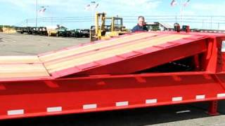 Felling Trailers FT-80-2 Hydraulic Tail Trailer - Main Deck Ramp