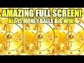 OMG!! IT HAPPENED! ALL 15 MONEY BALLS!! AMAZING FULL SCREEN BIG WIN! THE VAULT Slot Machine (Everi)