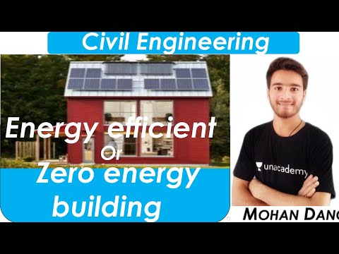 Energy Efficient Building | Zero Energy Building | Building Drawing And Design |  Green Building |