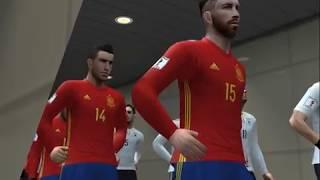 PES 2018 (PS2) Germany vs Spain - Friendly Match
