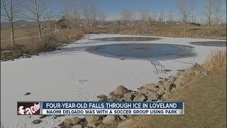 4-year-old who fell through pond ice identified