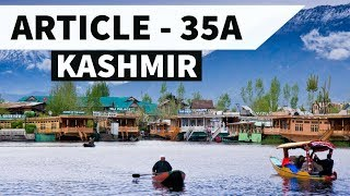 Article 35A Jammu & Kashmir - Legal GK / Aptitude - Analysis in Hindi of 35 A