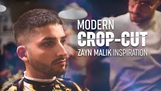 Modern Crop Haircut | Zayn Malik Hair Inspiration