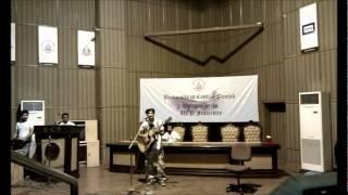 """UCP - Ali Rao performing live """"Yaar Daadi"""" by """"Ali Zafar"""""""