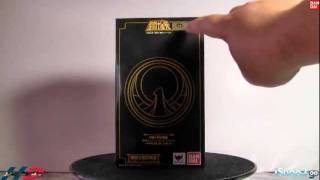 (English) Saint Seiya Myth Cloth Power of Gold Base Set with Accessories