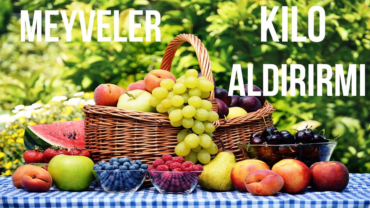 Meyve Kilo Aldırır Mı
