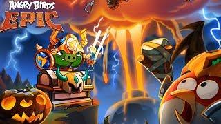 怒鸟传 Angry Birds Epic The Apocal Yptic Hogriders 游戏演练 手游酷玩