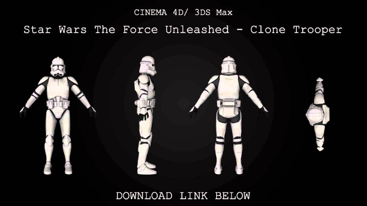The 3d programming and game world, and more. : star wars 3d models.
